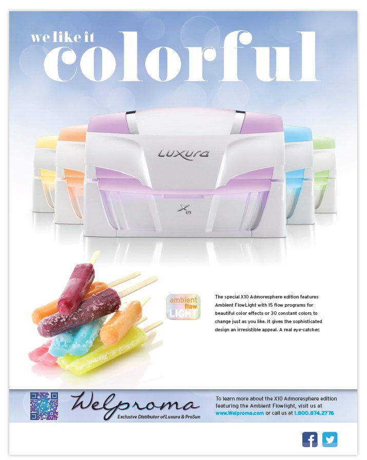 Luxura Full Page Ad 1